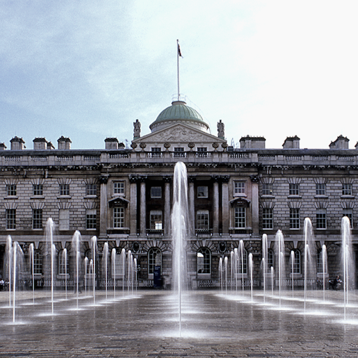 The Edmond J Safra Fountain Court at Somerset House © Jeff Knowles