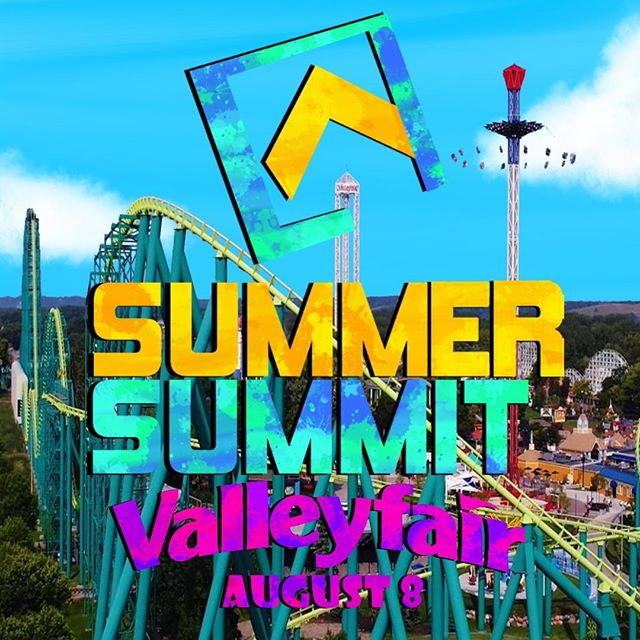 Summit is going back to Valley Fair! We'll be meeting at the church and driving down there together. We'll head out at 9am and be back around 7pm. The cost is $40 and make sure to bring money for food. You should also bring your swim suit if you want to go on the water rides. If you want to come, click on the link below to register. Register by August 7th at noon so we can get the right amount of tickets and transportation. Invite your friends and get ready for a day of fun! Share this post with people you think would be interested.  http://www.myhorizonschurch.com/summitmn/