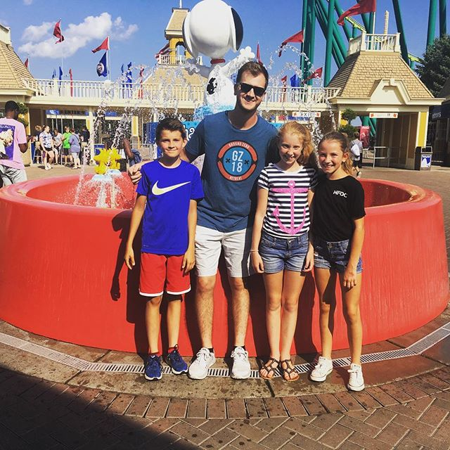 Some students and @caleb_kari had a blast at ValleyFair today. There is one more summer event on August 22nd. Also stay tuned for FALL LAUNCH details. It's all starting September 12th.