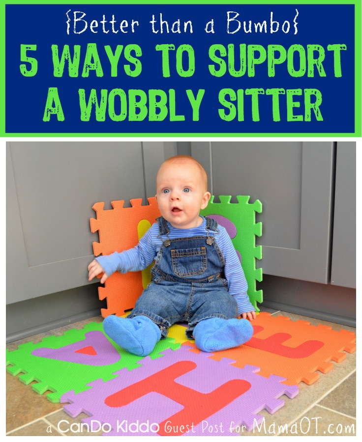 help your baby learn to sit