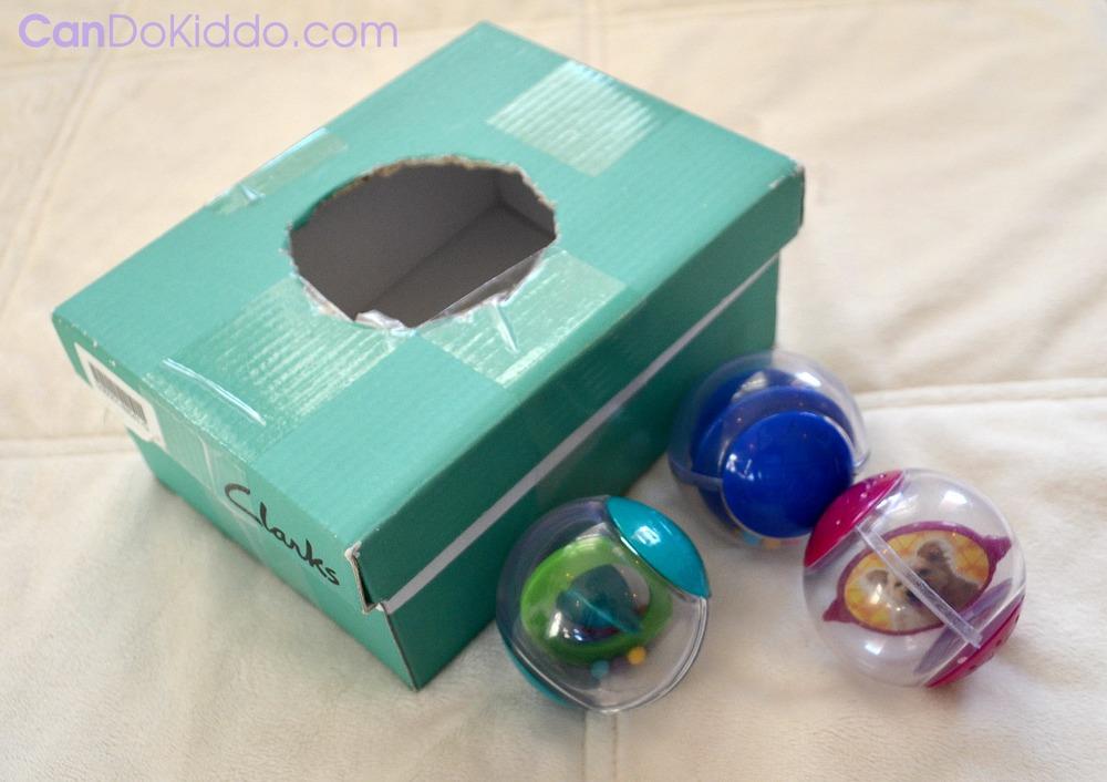 DIY baby toys shape sorter
