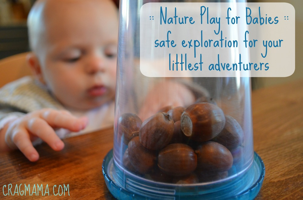 Nature Play for Babies. Safe ways for infants to play outside.