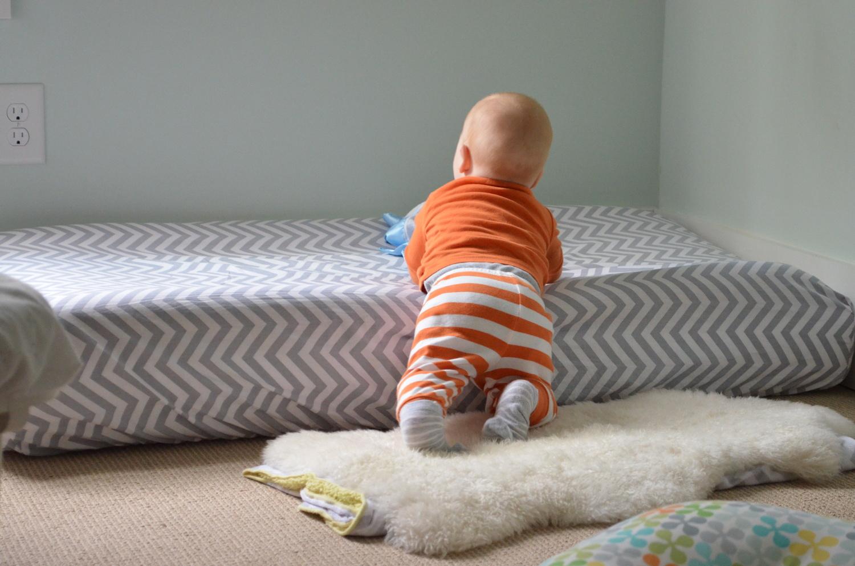 A Montessori Floor Bed And Baby Sleep Problems Cando Kiddo
