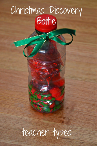 Christmas Discovery Bottle for Babies