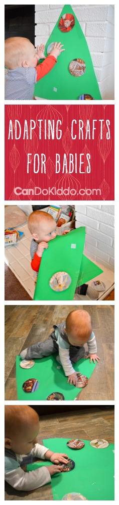 Adapting crafts and activities for babies - CanDo Kiddo