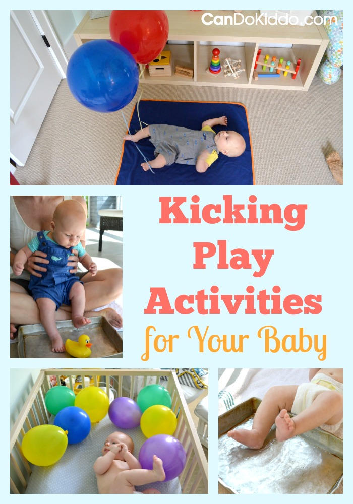 5 Creative Ways To Play With Your Kicking Newborn Cando