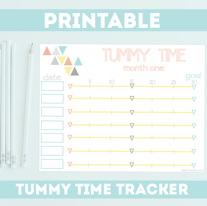 Tummy Time Tracker Tool. CanDo Kiddo