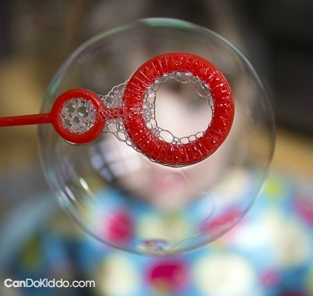 The benefits of bubble play for babies toddlers and preschoolers. CanDo Kiddo