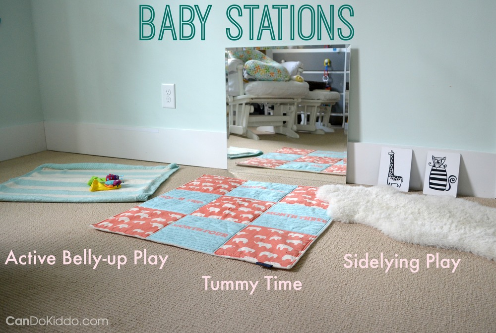 Baby Stations - baby activities for fun and healthy development. CanDo Kiddo