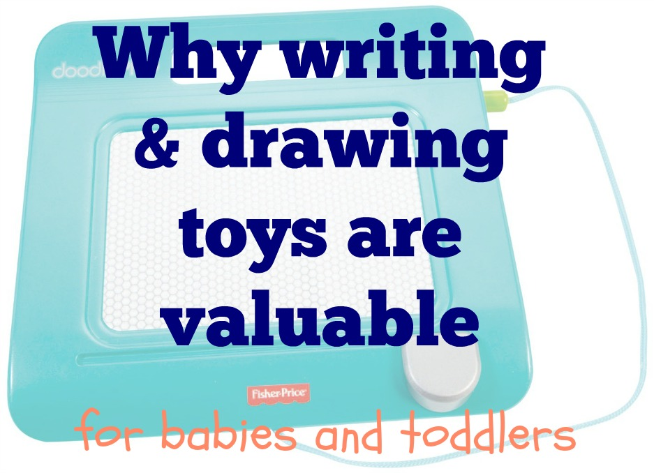 early drawing and writing play for crayon eaters and paper rippers