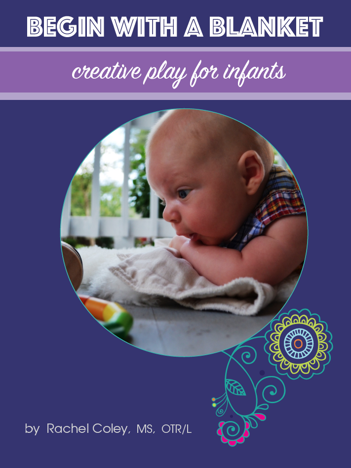 Begin With a Blanket - Creative Play for Infants. CanDo Kiddo
