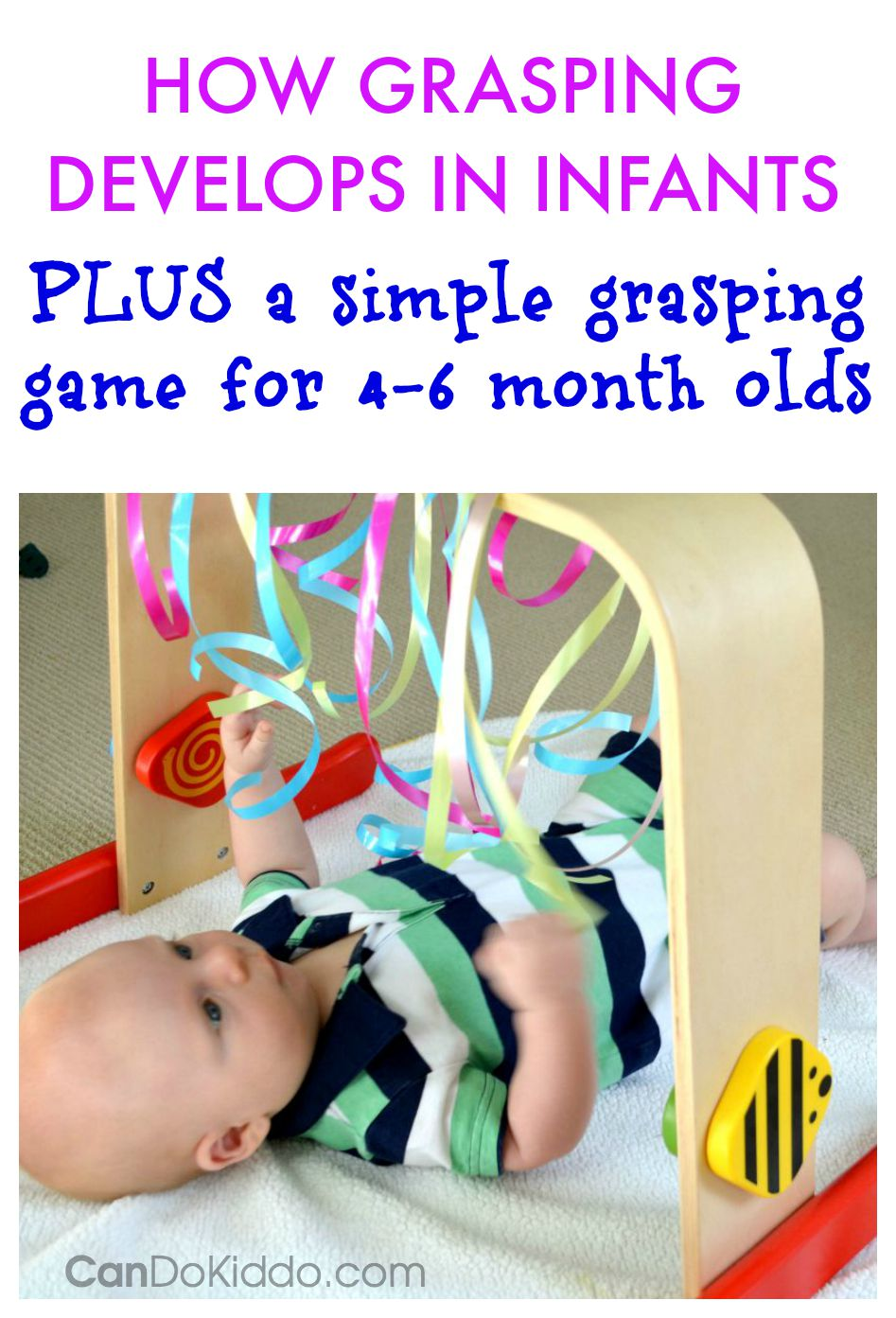 Grasping Play for Babies. CanDoKiddo.com