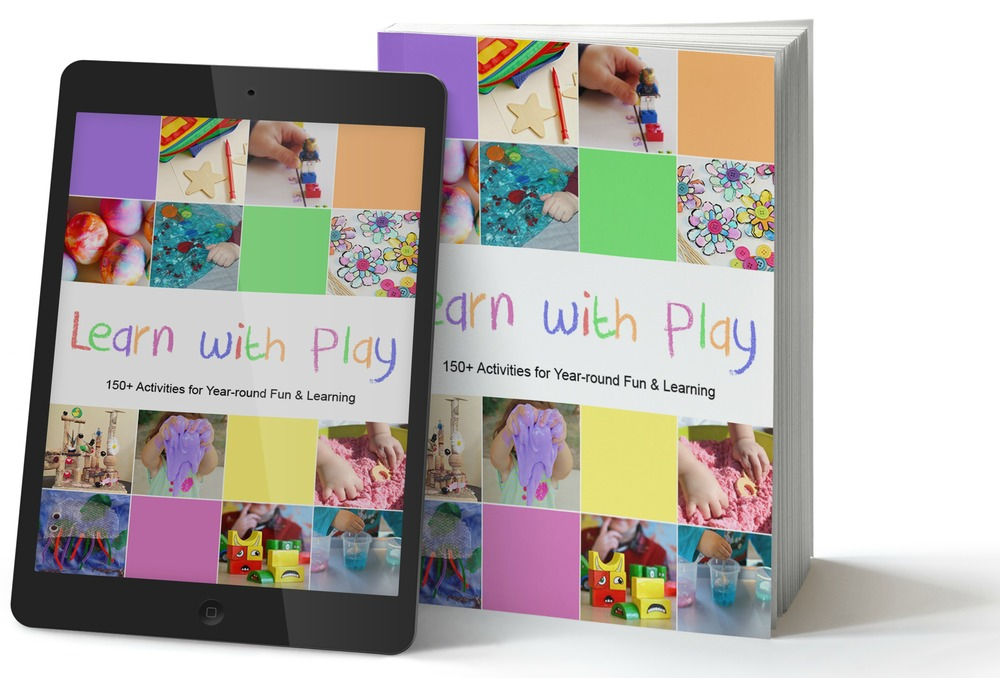 Learn With Play - kid blogger network book. CanDoKiddo.com