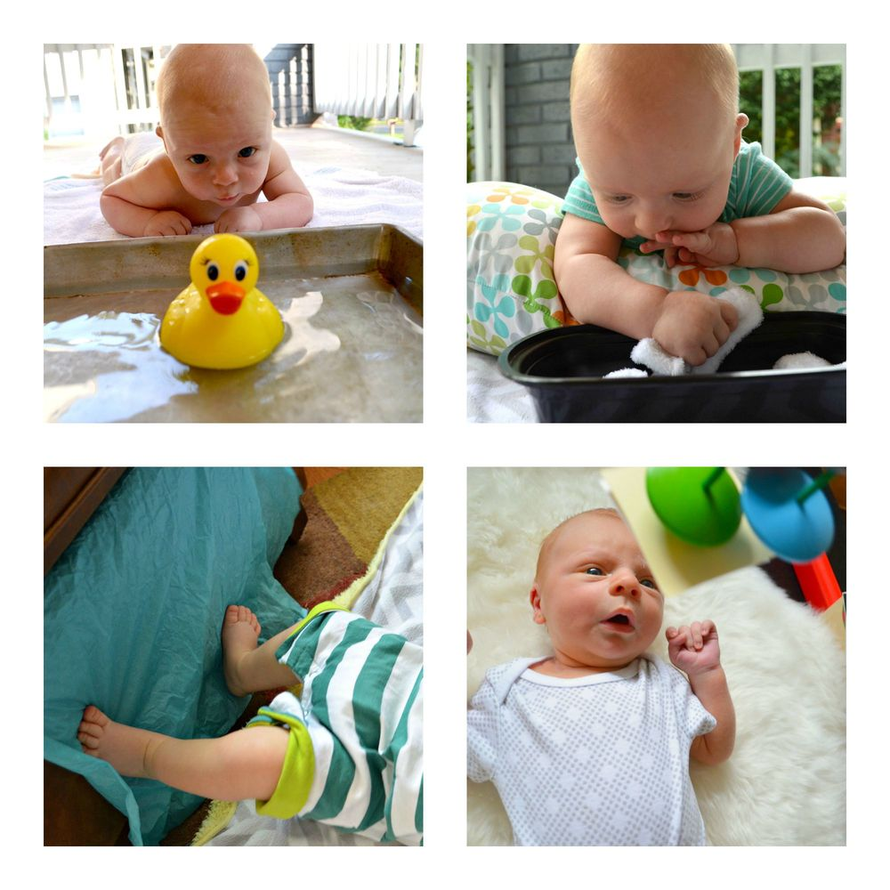 Creative Baby Play Ideas and activities - Book for the first 4-6 months. CanDoKiddo.com