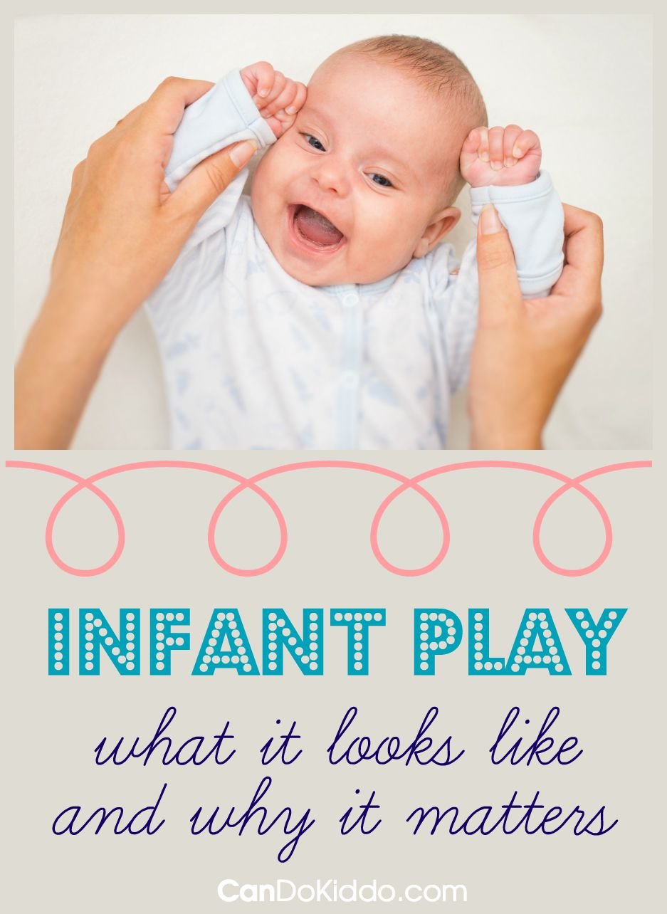 Infant play - tips for new and pregnant parents for promoting development. CanDoKiddo.com