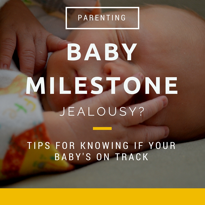Baby Milestone Jealousy. Tips for parents. CanDoKiddo.com