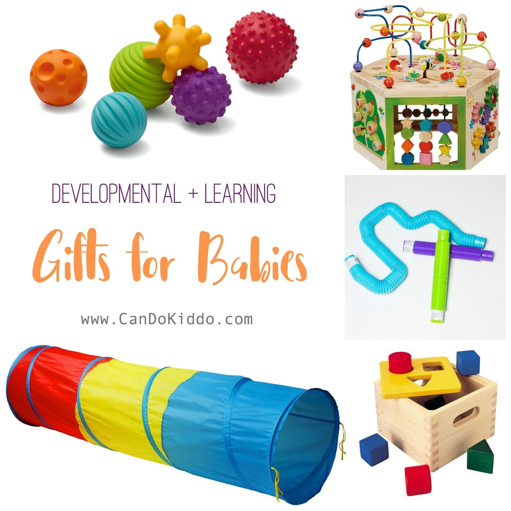 Developmental Baby Toys recommended by a pediatric OT.