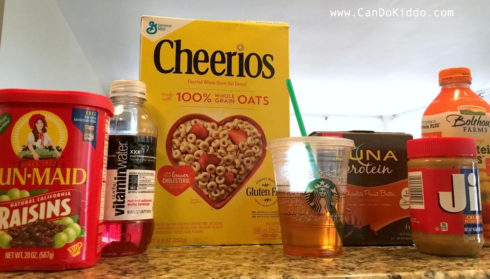 My pregnancy sickness diet. www.CanDoKiddo.com