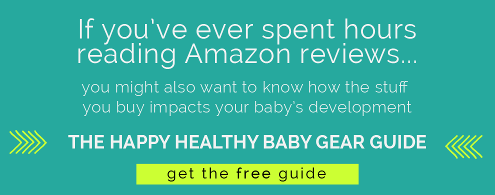 Baby Gear Guide from pediatric OT. www.CanDoKiddo.com