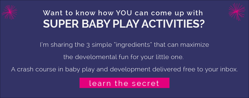 Baby Play ideas. www.CanDoKiddo.com