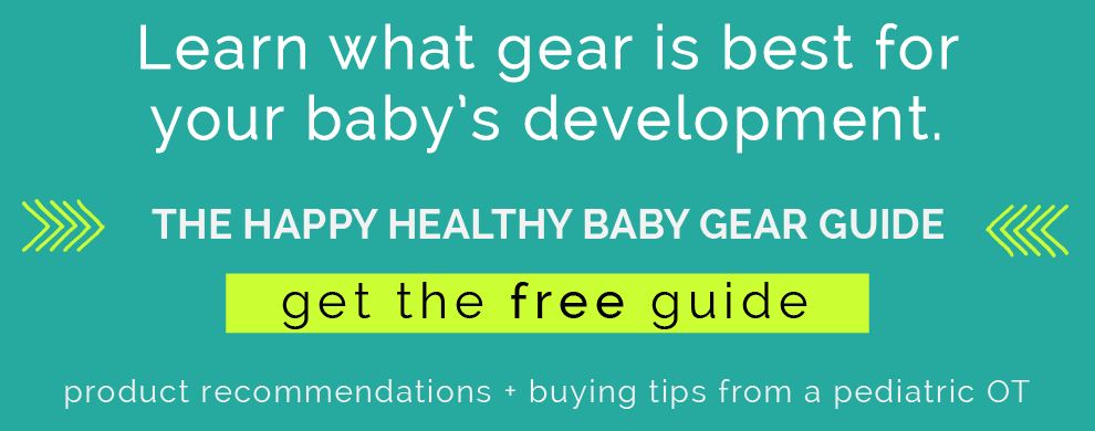 Happy healthy baby gear guide. CanDoKiddo.com