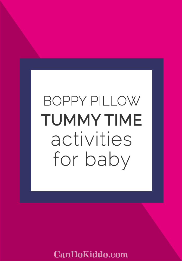 boppy pillow tummy time tips