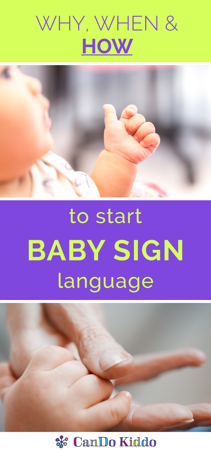 Why When And How To Start Baby Sign Language Cando Kiddo