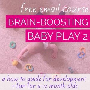 developmental baby play free email course