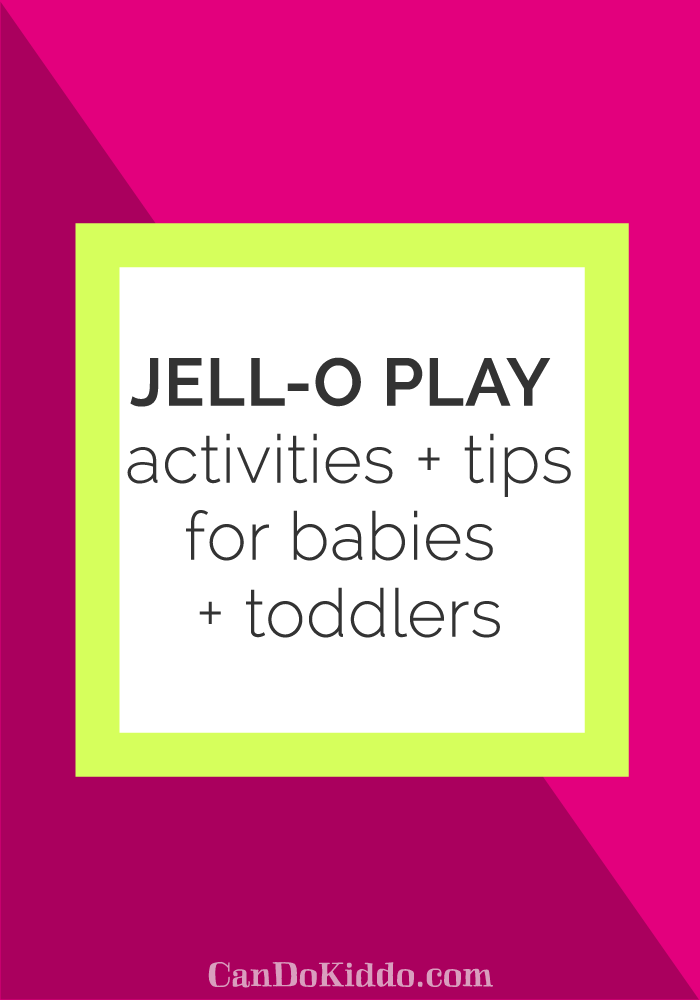 sensory play for babies and toddlers