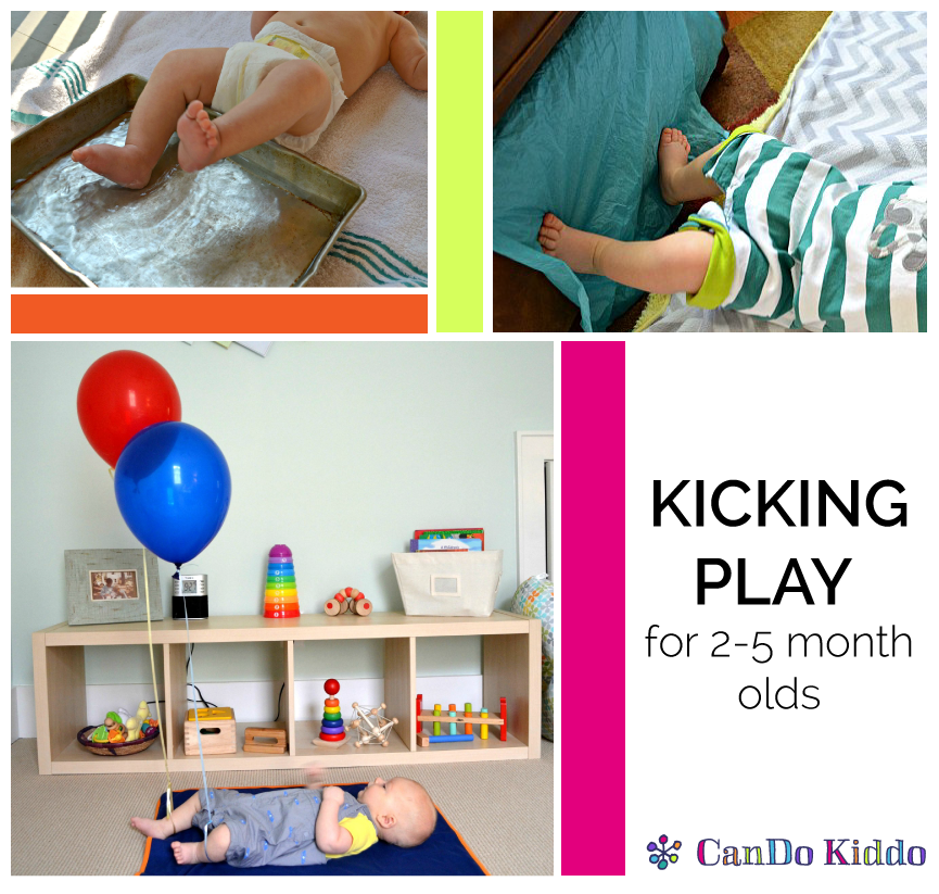 Clever And Creative Ideas For The Ultimate Playroom: 5 Creative Ways To Play With Your Kicking Newborn