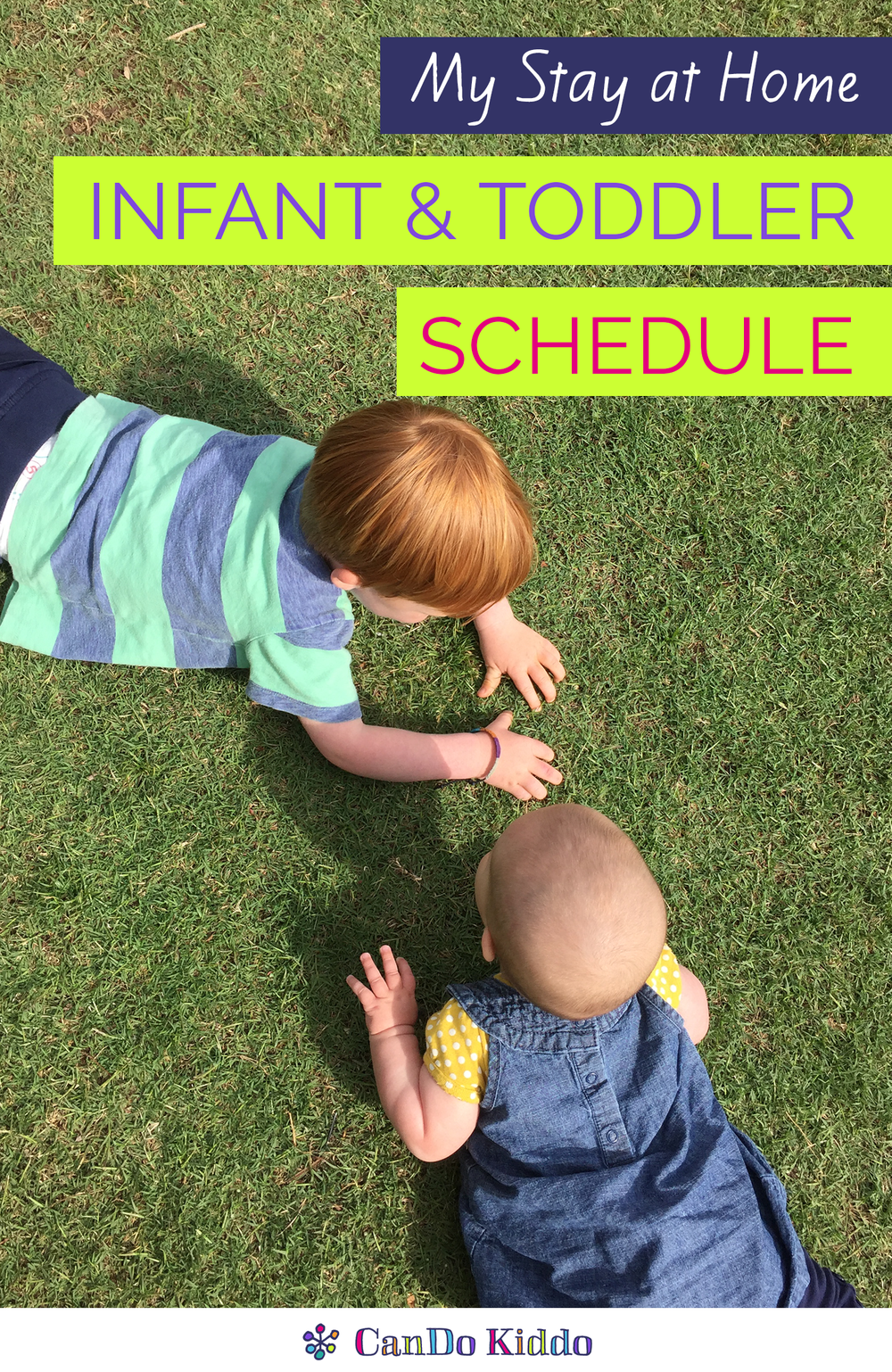 Infant and Toddler Daily Schedule www.candokiddo.com