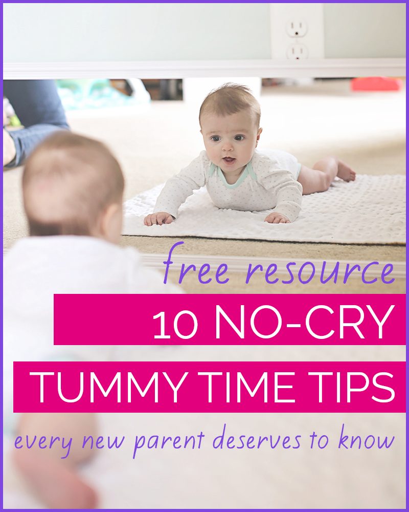 tummy time tips baby hates tummy time