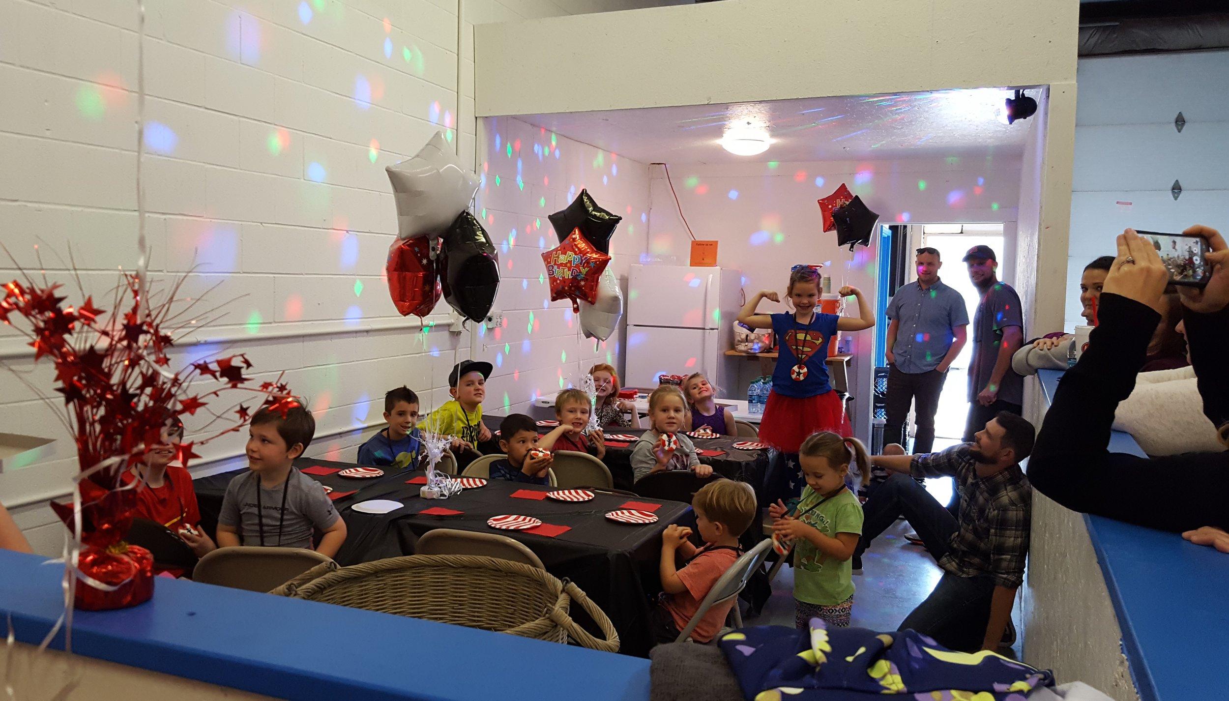 Warrior Sports Birthday Party