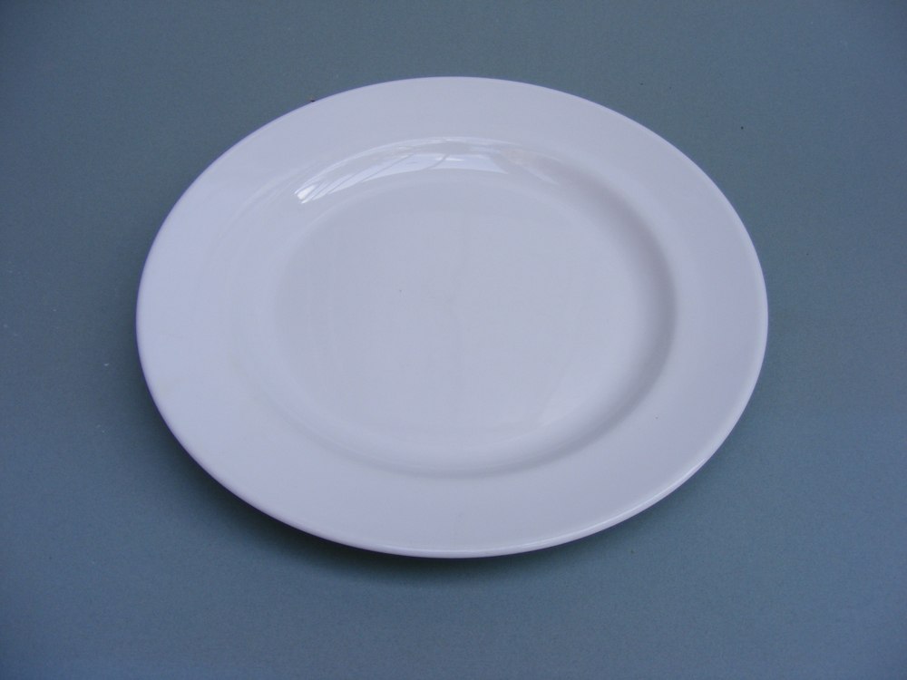 plate as watercolour palette