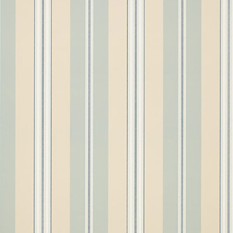 Chalon Stripe in Sky by Schumacher