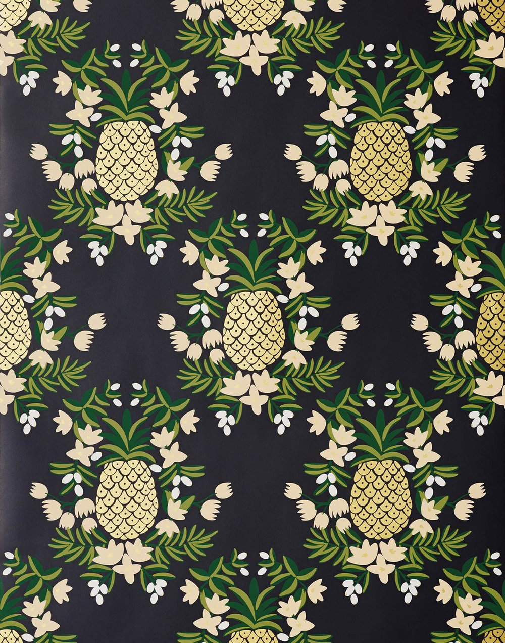 Pineapple in Ebony by Hygge & West