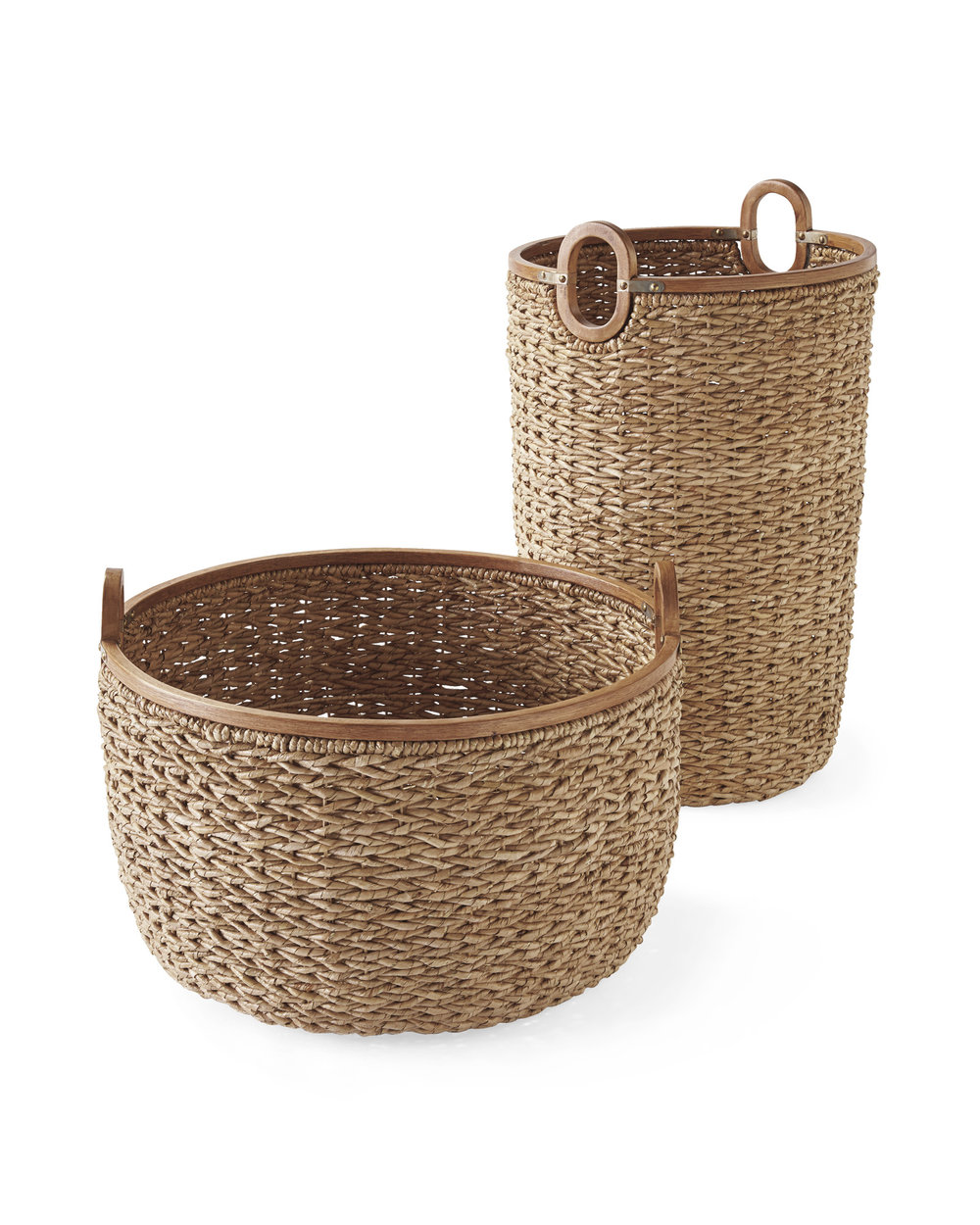 Serena & Lily Seagrass Baskets