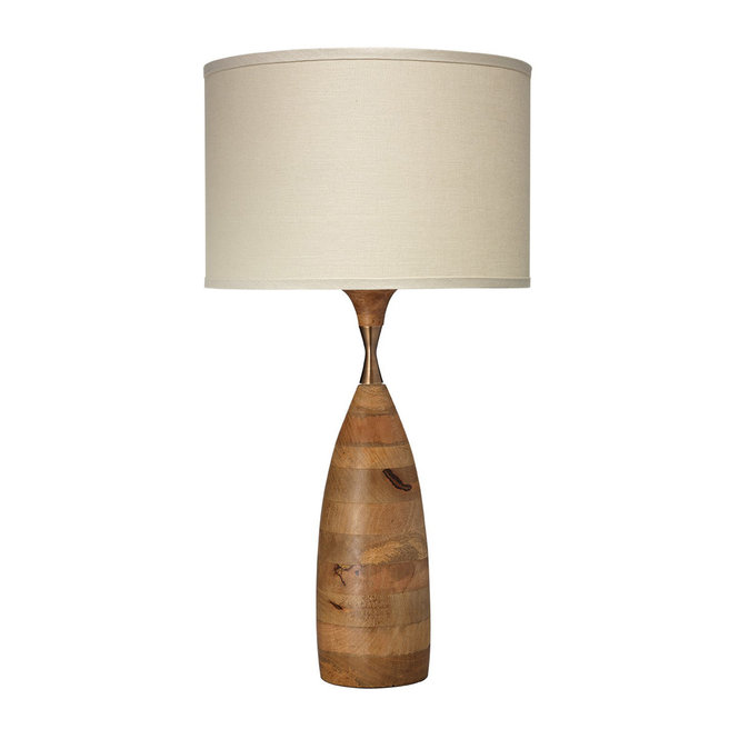 Shades of Light Vintage Rustic Hourglass Table Lamp
