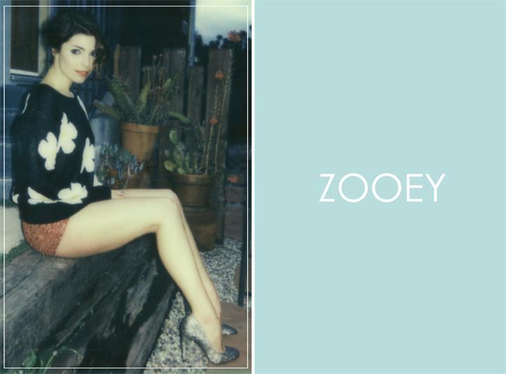 Angela Trimbur, Zooey Magazine