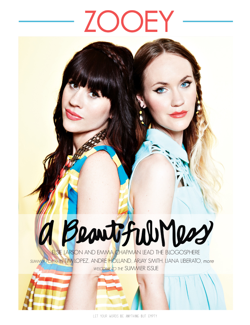 Emma and Elsie, Zooey Magazine