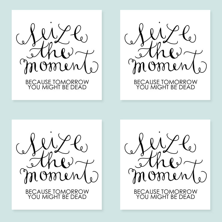 Seize the Moment, Temporary Tattoos