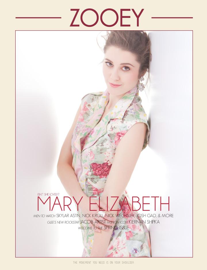Mary Elizabeth Winstead, Zooey Magazine
