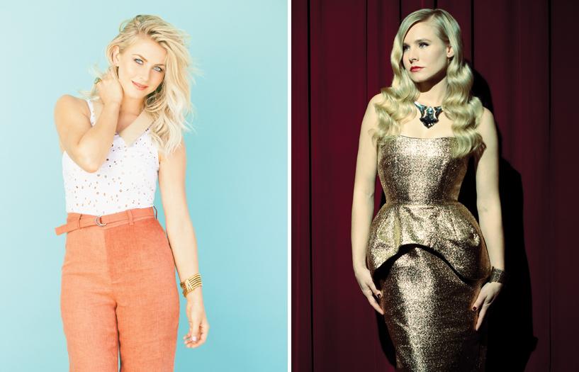 Zooey Magazine, Julianne Hough, Kristen Bell