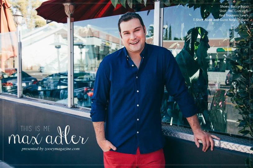 Max Adler, Zooey Magazine