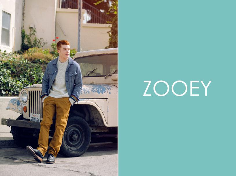 Cameron Monaghan, Zooey Magazine