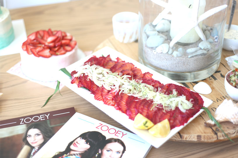 Zooey Magazine, Food and Catering