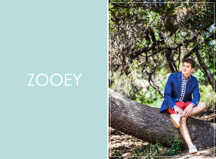 Gregg Sulkin, Zooey Magazine