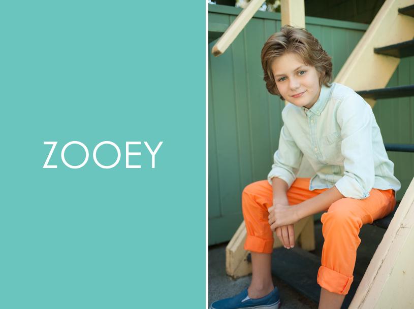 Ty Simpkins, Zooey Magazine