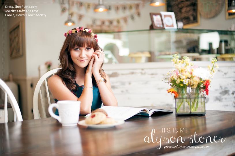 Alyson Stoner zooey magazine