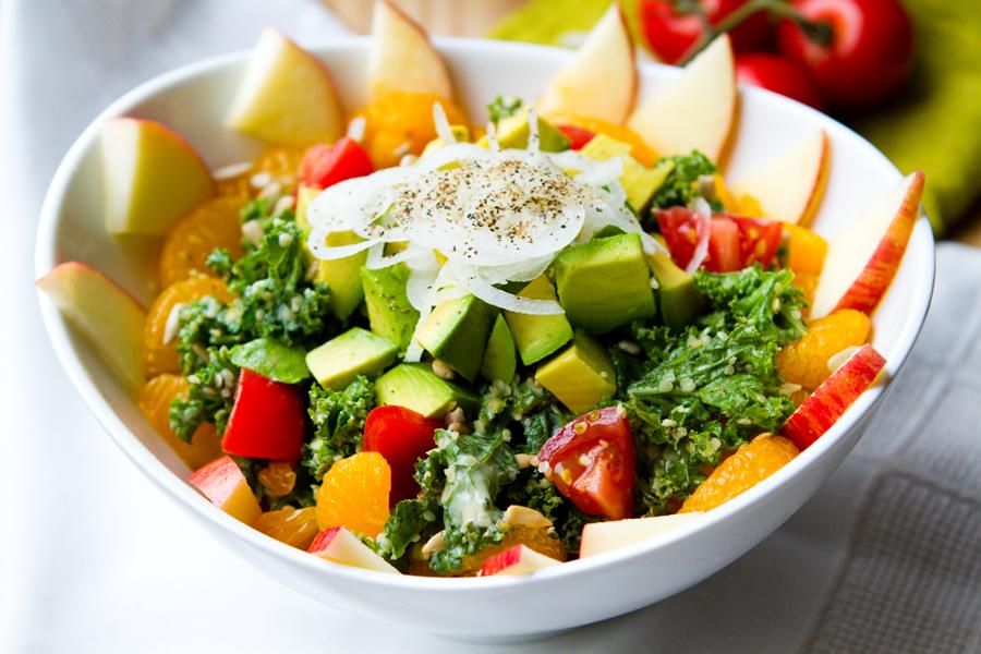 Kale Salad, Zooey Magazine